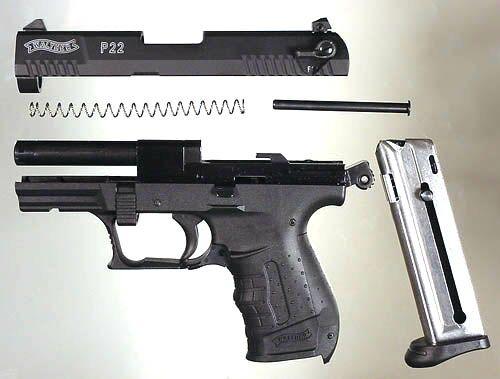 Phoenix HP22, Taurus PT-22, Walther P22